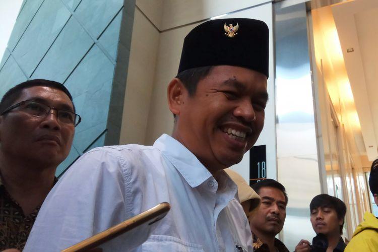 Ketua DPD Partai Golkar Jawa Barat Dedi Mulyadi mengaku kenal dan pernah bertemu dengan orang yang meminta mahar Rp 10 miliar kepada dirinya. Jakarta, Jumat (29/9/2017).