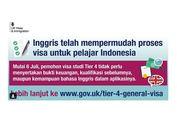 Inggris Permudah Pembuatan Visa Tier 4 bagi Pelajar Asing, Termasuk Indonesia