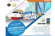 Palembang ke Jakarta Bisa Ditempuh dengan Intermoda Kereta dan Bus