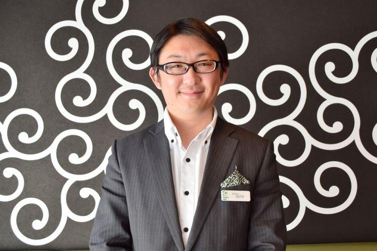 Goto Masayuki, manager karaksa hotel Osaka Namba