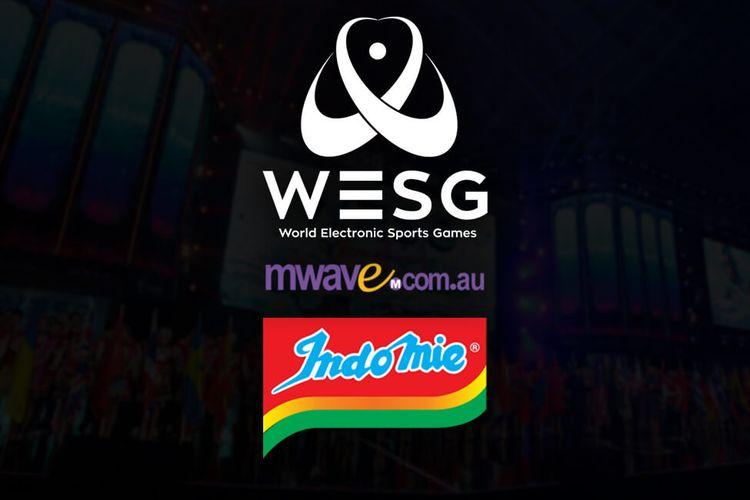 WSEG Oceania 2018 dengan dukungan Mwave dan Indomie sebagai sponsor.