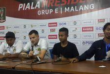 Pelatih Bhayangkara FC Keluhkan Kondisi Lapangan