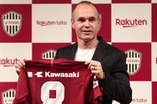 Andres Iniesta Resmi Gabung ke Klub Liga Jepang Vissel Kobe