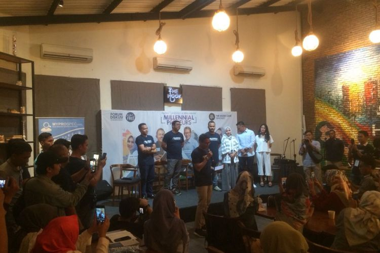 Calon wakil presiden nomor urut 02 Sandiaga Uno saat ditemui bilangan Jakarta Selatan, Sabtu (13/10/2018) malam.