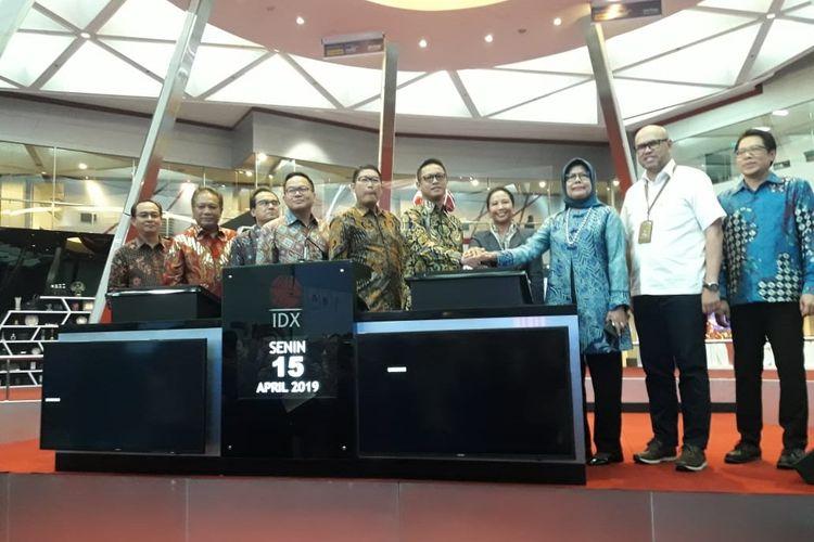 PT Jasa Marga (Persero) Tbk bersama dengan PT Mandiri Manajemen Investasi merilis Kontrak Investasi Kolektif Dana Investasi Infrastruktur (KIK-DINFRA), Senin (15/4/2019).