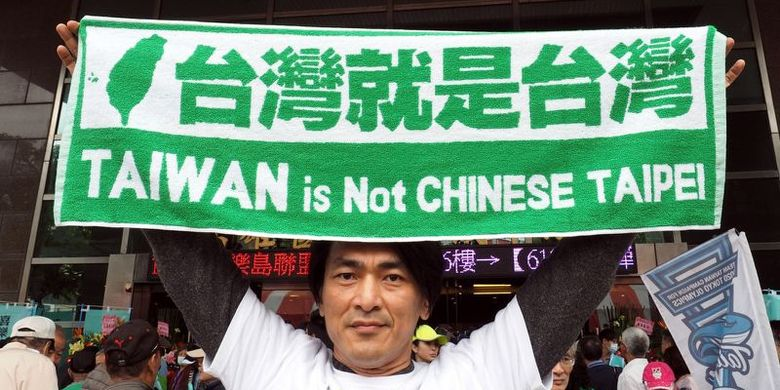 Taiwan Terancam Dicoret dari Olimpiade 2020 di Tokyo