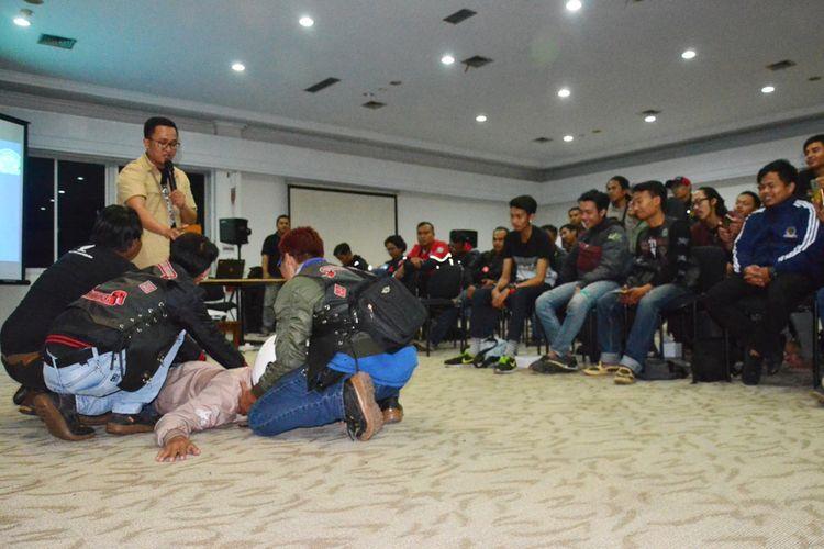 Biker Honda di Jawa Barat Belajar Safety Riding
