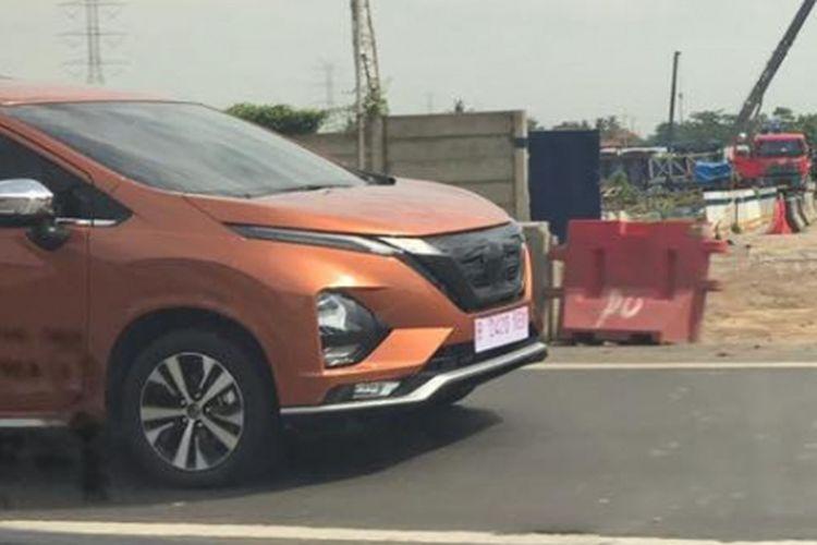 Penampakan Nissan Livina terbaru dengan basis <a href='https://medan.tribunnews.com/tag/mitsubishi-xpander' title='MitsubishiXpander'>MitsubishiXpander</a>