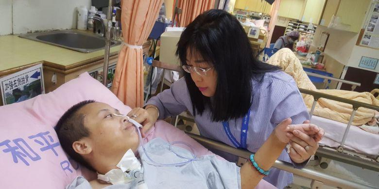 Pemerintah Pastikan Fasilitasi Pemulangan Shinta, TKI Lumpuh di Taiwan