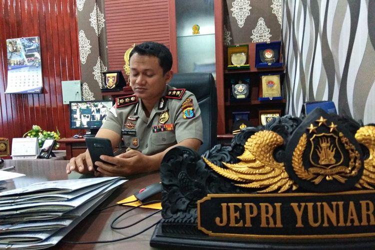 Kapolres Nunukan AKBP Jepri Yuniardi, Kamis (5/7/2018)