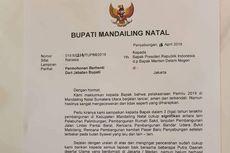 Bupati Mandailing Natal Sebut Jokowi Tolak Pengunduran Dirinya