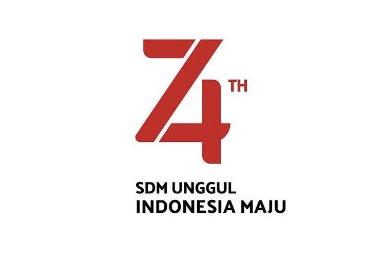 Logo HUT ke-74 RI