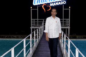 Minggu Malam, Jokowi dan Keluarga Nongkrong di TIS Square Tebet