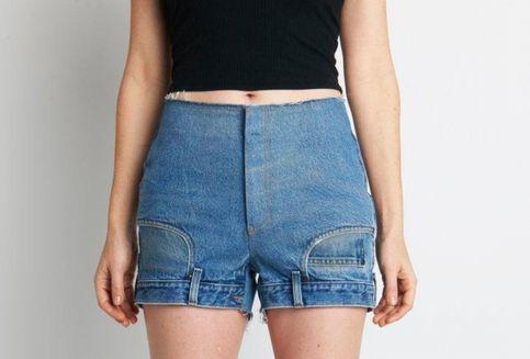 Celana Jins Model Terbalik Ini Dibanderol Rp 7 Juta