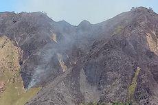 Musim Kemarau, 100 Hektar Sabana di Kawasan Gunung Rinjani Terbakar