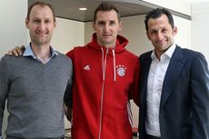 Klose Kembali ke Bayern Muenchen