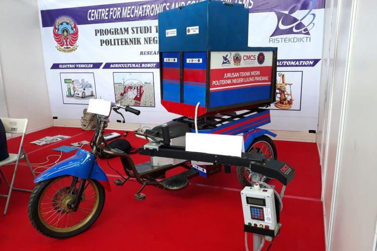 Motor Listrik Inovasi Mahasiswa Makassar