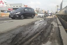 Imbas Proyek Infrastruktur, Jalan di Kelapa Gading Rusak