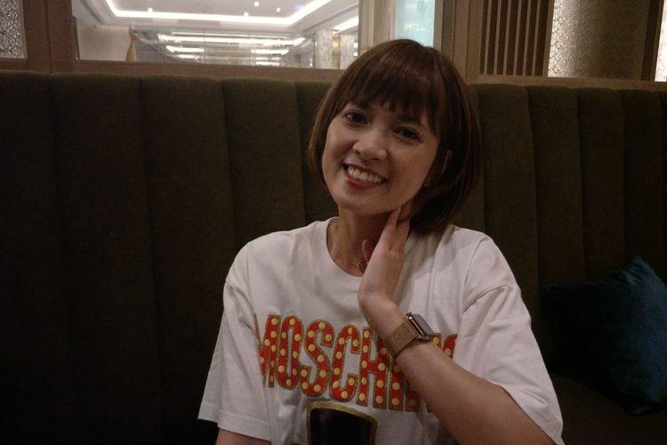 Chika Jessica saat ditemui di kawasan Pondok Indah, Jakarta Selatan, Minggu (30/6/2019).