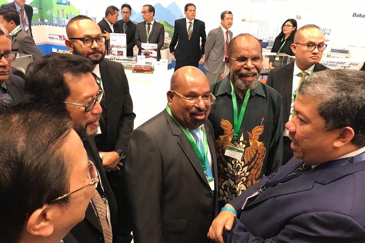 Sejumlah pimpinan DPR RI menghadiri Pacific Exposition 2019 yang berlangsung 11 hingga 14 Juli di SkyCity Auckland, New Zealand