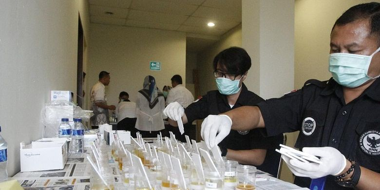 Gandeng BNN, Ratusan Pegawai Kemenko PMK Mendadak di Tes Narkoba