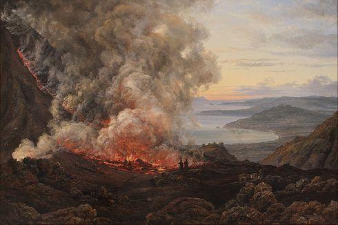 Saking Panasnya, Letusan Vesuvius Bikin Tengkorak Manusia Meletus