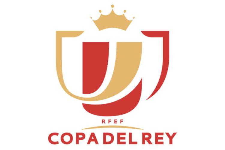 Logo Copa del Rey alias Piala Raja Spanyol.