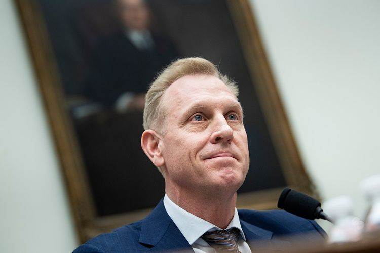 Penjabat Menteri Pertahanan AS, Patrick M Shanahan.