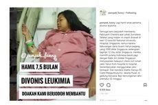 Sedang Hamil 7,5 Bulan, Perempuan Ini Divonis Idap Leukemia
