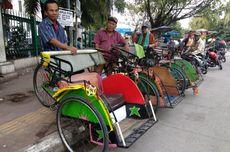 Becak di Jakarta, di Mana Bakal Beroperasi?