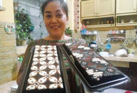Makanan Unik dari Yogyakarta, Brownies Motif Batik