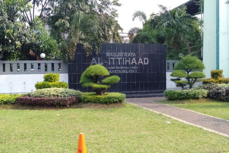 Masjid Al Ittihaad, Tebet, Jakarta Selatan, Selasa (21/5/2019)