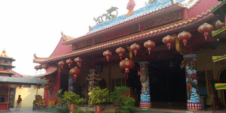 Vihara Avalokitesvara di kawasan Banten Lama.