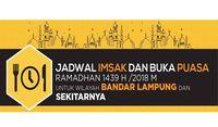 Jadwal Imsak dan Buka Puasa di Bandar Lampung pada Hari Ini
