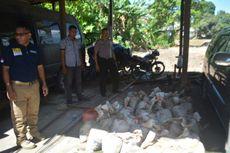 Polisi Tembak Kapal Pengangkut Tiga Ton Batu Cinnabar di Pulau Seram