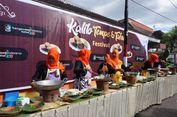 Tempe Mongkleng dan Es Tofu Pelangi di Festival Tahu Tempe Banyuwangi