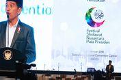 Buka Festival Shalawat, Jokowi Ajak Umat Jaga Kedamaian di Tahun Politik