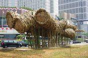 Sejarah Instalasi Bambu Getih Getah Seharga Rp 550 Juta yang Bertahan 11 Bulan di HI