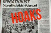 [HOAKS] Ramalan Gempa Megathrust di Mentawai Akhir Februari
