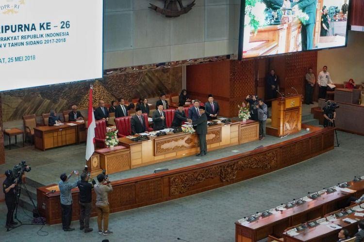 Sah! Undang-Undang Antiterorisme Akhirnya Resmi Disahkan oleh DPR