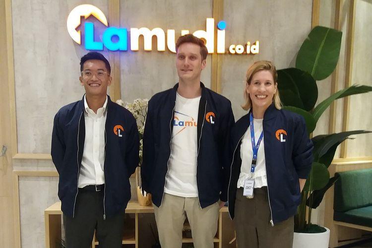 Lamudi secara resmi menempati kantor baru di GoWork, pacific Place, Jakarta, Kamis (16/5/2019).