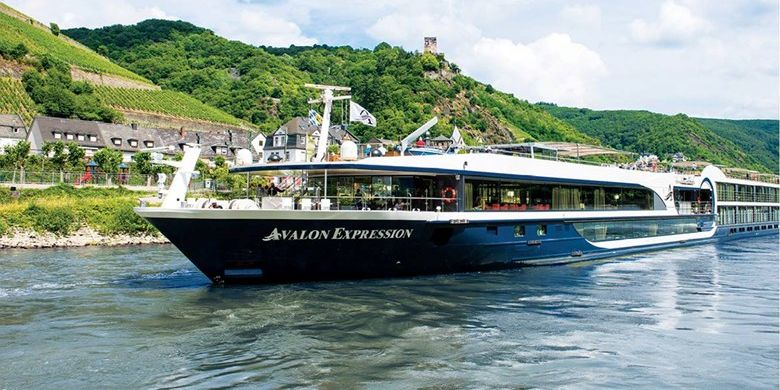 Kapal pesiar sungai Avalon Waterways.