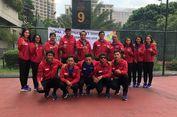 Tim Soft Tenis Siapkan Diri di Korea Selatan