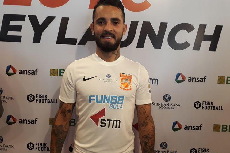 Penyerang Borneo FC, Marlon da Silva.