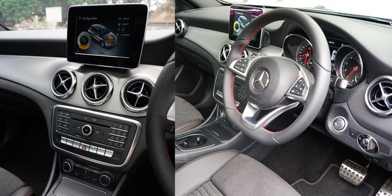 Interior Mercedes-Benz GLA 200 AMG Line