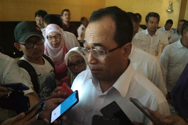 Menteri Perhubungan (Menhub), Budi Karya Sumadi.