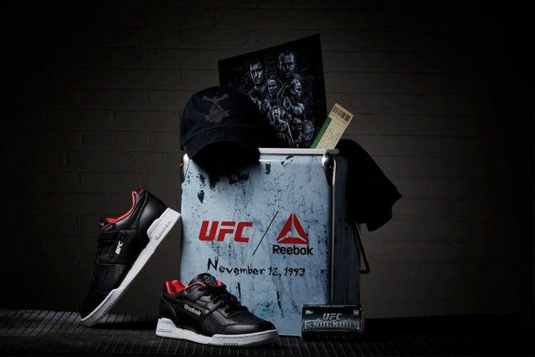 Reebok X UFC Bikin Sneakers Istimewa Berbahan