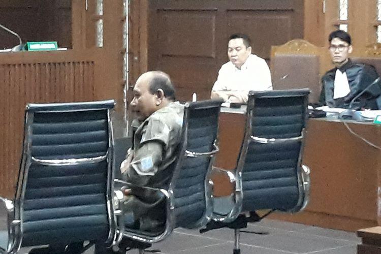 Kepala Badan Keamanan Laut (Bakamla) Laksamana Madya Arie Soedewo bersaksi di Pengadilan Tipikor Jakarta, Rabu (26/9/2018).