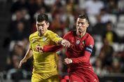Portugal Vs Ukraina, Lepas 7 Tembakan, Ronaldo Gagal Bikin Gol