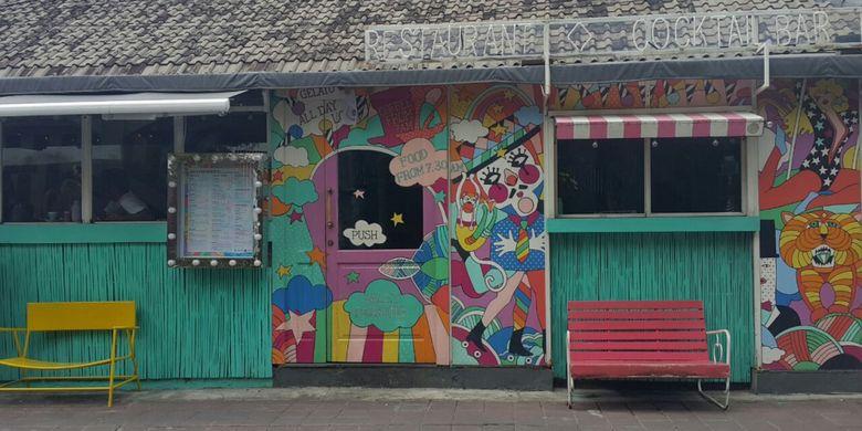 Restoran Sea Circus di Jalan Kayu Aya, Seminyak, Kuta, Bali.